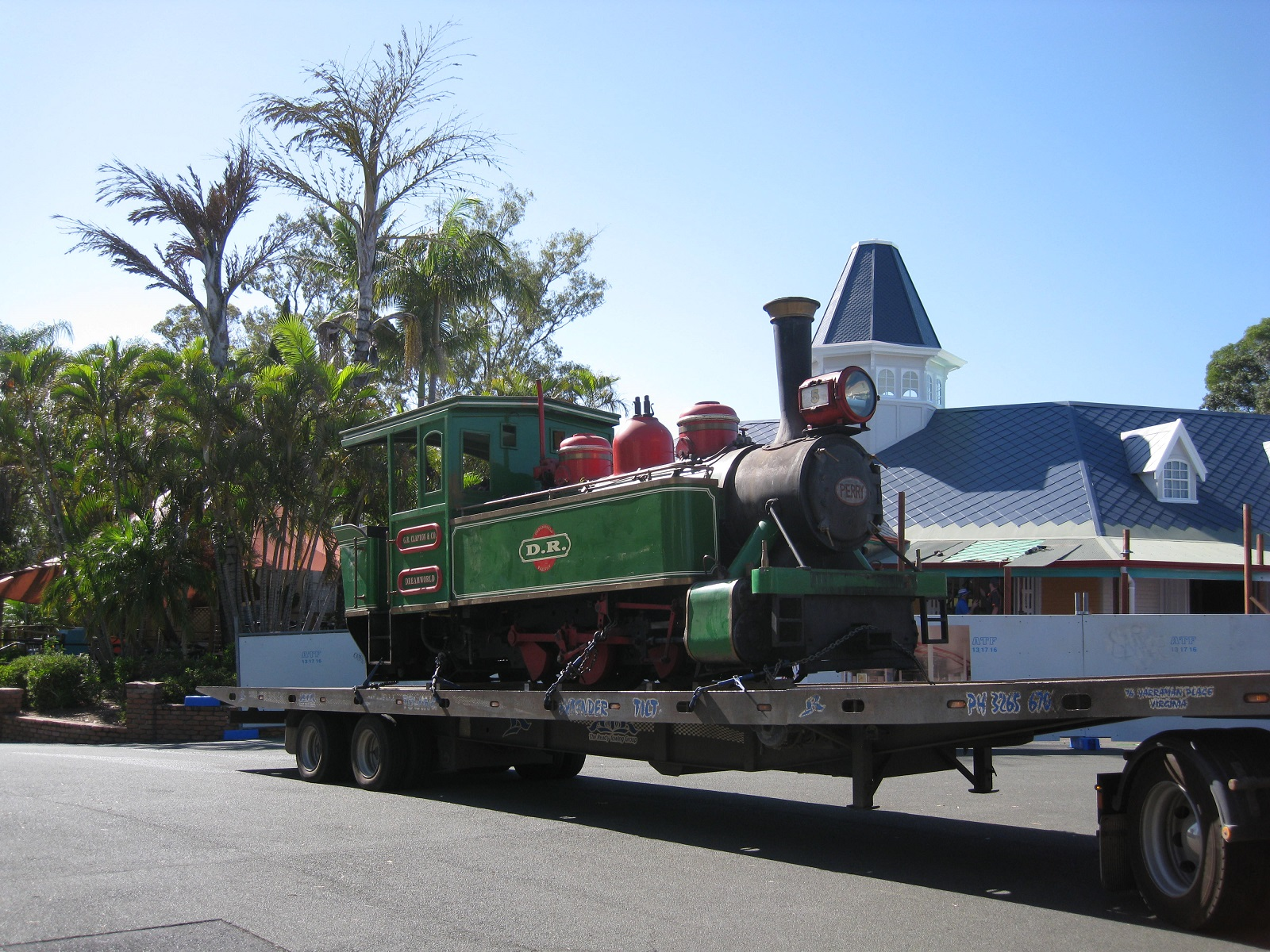 Moving Perry from Dreamworld